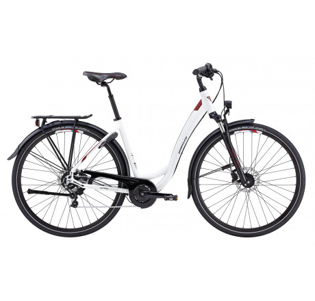 Wheeler Allterra Endurance DI white - City Trekking Crossover Bike