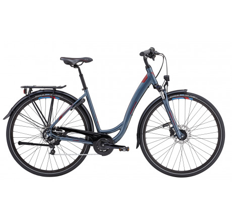 Wheeler Allterra Endurance DI grey - City Trekking Crossover Bike