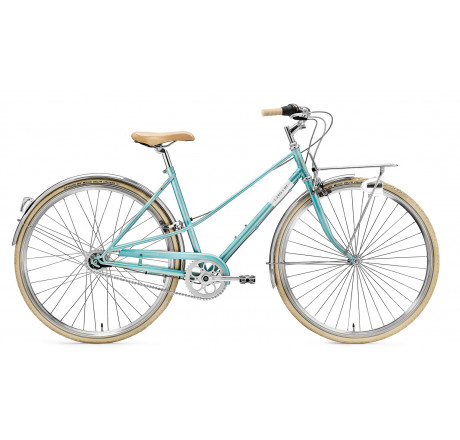 Creme Caferacer Lady Solo turquoise 7 speed