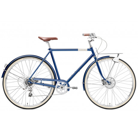 Creme Caferacer Man Solo disc deep blue 9 speed