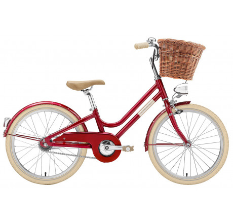 "Creme Mini Molly 3 20"" red 3 speed"