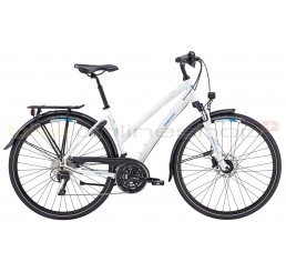 Wheeler Ecorider Premium Lady white - City Trekking Classic Bike