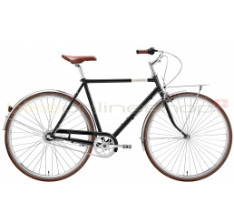 Creme Caferacer Man Uno black 3 speed