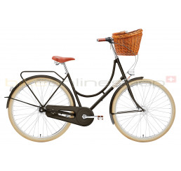 Creme Holymoly Lady Doppio jet black 7 speed