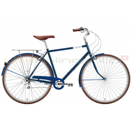 Creme Mike navy blue 3 speed